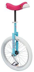 QU-AX Luxus Einrad blau/pink/weiß Laufradgröße 20