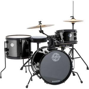 Ludwig LC178X016DIR Questlove Pocket Kit, Black Kinder-Schlagzeug