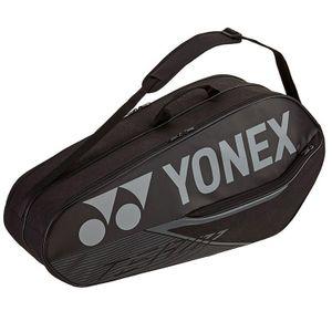 Yonex Team Racket Bag 6R Tennistasche Schwarz