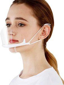 10 Stück Safety Gesichtsschutzschild Kunststoff Visier Gesichtsschutz Anti-Fog Anti-Öl Splash Transparent Schutzvisier - Essen Hygiene Spezielle Anti-Saliva Sesichtsschutzschirm