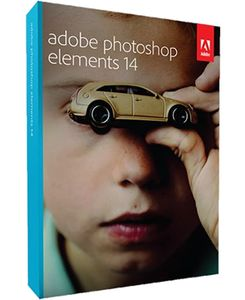 Adobe Photoshop Elements 14, Upgrade, 1024x768, FRE, DVD