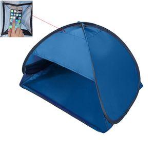 Pop-up-Strandzelt, Mini Zelt am Strand, Haustierzelt, Schutzdachschutz für den persönlichen Sonnenschutz 80*50*55cm