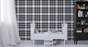 10m VLIES TAPETE Rolle Geometrie Linien Streifen Kariert Muster Modern XXL