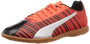 PUMA ONE 5.4 IT Herren Low Boot Fußballschuhe Schwarz-Rot-Weiss Schuhe, Größe:48 1/2
