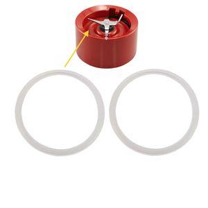 2X Gummidichtung Dichtungsring transparent für KitchenAid Artisan Blender Standmixer 5KSB5553, 5KSB555, 5KSB565