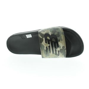 New Balance Pantolette Badeschlappen Badelatschen Herrenschuhe SMF200 D CP BLACK CAMO 780741-60-8, Farbe New Balance:CP BLACK CAMO, Größe Schuhe Erwachsene:44