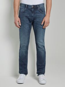 TOM TAILOR JOSH Regular Slim Herren Jeans in 3 verschiedenen Farben, Inch Größen:W33/L30, Tom Tailor Farben:Used Mid Stone Blue 10119
