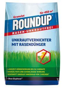 ROUNDUP® RASEN-UNKRAUTFREI Granulat mit Rasendünger 9 kg für ca. 450 m²