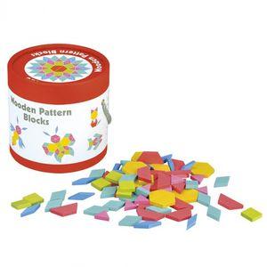 Lelin Toys musterblöcke Mosaic junior Holz 2-teilig