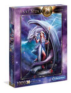 Clementoni 39525 Anne Stokes Collection im Bann des Drachen 1000 Teile