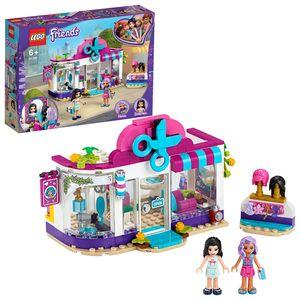 LEGO 41391 Friends Friseursalon von Heartlake City, Spielset mit Emma Mini Puppe, Perücken und Haaraccessoires für Kinder ab 6 Jahren