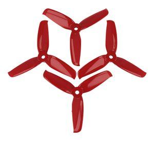 Gemfan 4052 4x5,2 Flash 3-Blatt-Propeller - Rot (2xCW, 2xCCW) 4 Zoll