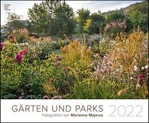 Gärten und Parks 2022 - Garten-Kalender 58x48 cm