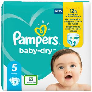 Pampers Windeln baby-dry Größe 7 Extra Large 15+ kg