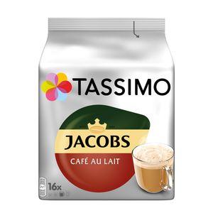 Tassimo Jacobs Café Au Lait | 16 T Discs, Kaffeekapseln