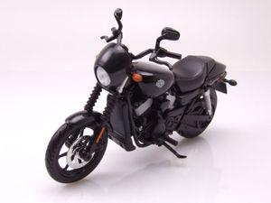 Harley Davidson Street 750 2015 schwarz Modellmotorrad 1:12 Maisto