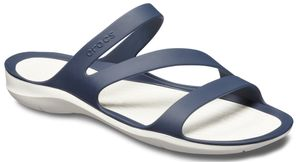 CROCS Swiftwater Sandal W - 462 Navy/White / 5