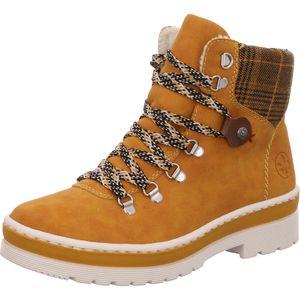 Rieker Schuh     gelb standa, Größe:38, Farbe:ocker/yellow-black/mogano 6