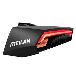 Meilan X5 Fahrrad Ruecklicht Bike Remote Wireless Licht Blinker LED Beam USB Kostenpflichtiges Radfahren Ruecklicht