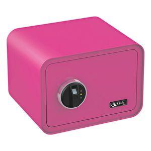 Olympia Go Safe 100 Tresor Design Safe, Fingerprint, Farbe: Pink