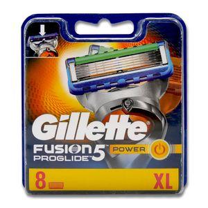 Gillette Fusion5 ProGlide Power Rasierklingen, 8er Pack