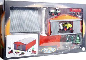 - Speed Zone - Bauernhof-Scheune mit Fahrzeugen und Zubehör