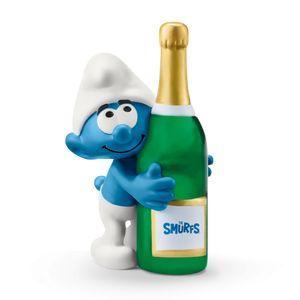 SCHLEICH 20821 - Schlumpf mit Flasche The Smurfs