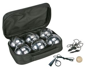 Boule Set in Nylontasche