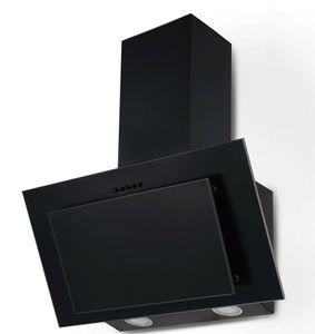 Dunstabzugshaube KH-MSH-60B schwarz 60cm Schräghaube Randabsaugung