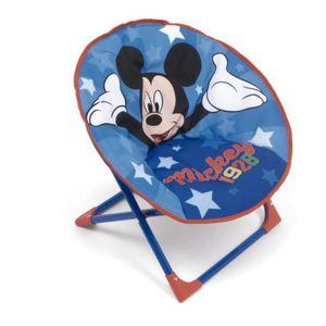 Disney stuhl Mickey Mouse junior 50 cm Polyester blau/rot