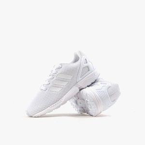 adidas Originals ZX Flux Kinder Sneaker Weiß Schuhe, Größe:29