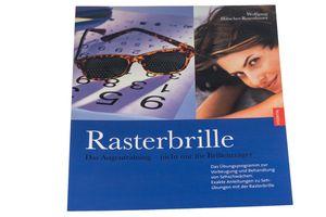 """Buch """"Rasterbrille - Das Augentraining - nicht nur für Brillenträger"""" - Ratgeber - Lochbrille - Sehhilfe"""