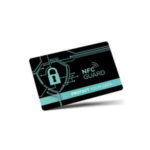 2x NFC RFID Karte RFID & NFC Schutz RFID Blocker Karte für EC & Kreditkarten