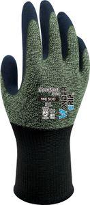 Wonder Grip WG-300 Comfort Lite - Arbeitshandschuh mit Latexbeschichtung, Handschuh, Grip, Sicherheitshandschuh für hohe Griffigkeit Größe:L/9