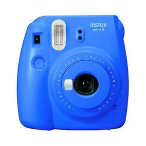 FUJIFILM INSTAX MINI 9 inkl. Batterien + Trageschlaufe, Farbe:Blau