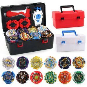 12 Stück /Set Beyblade Burst Set Spinning mit Grip Launcher + tragbarem Werkzeugkasten