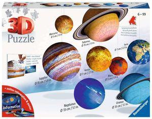 Ravensburger 3D-Puzzle Planetensystem, 522 Teile