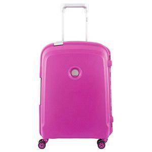 Delsey Belfort Plus 4-Rollen-Kabinentrolley Slim Line S 55 cm pink