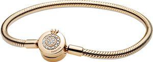 Pandora Signature Collection Armband 569046C01 Pandora Moments Sparkling Crown Shine 19