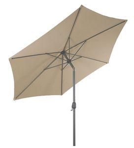 (DPD) Aluminium Sonnenschirm mit Knick Ø 2,5 m - Farbe: beige (2200)