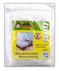 XXL Moskitonetz Bettvorhang Mückenschutz fürs Bett Fliegennetz Betthimmel Insektennetz Mückennetz Fliegengitter Vorhang