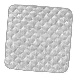 Inkontinenzunterlage waschbar Inkontinenzauflage Nässe Schutz Auflage Grau wie beschrieben