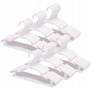 40 Stück Baby Kleiderbügel für Kinder, 28 cm weiß