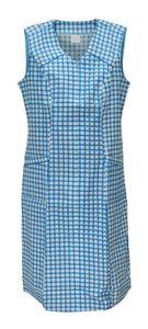 Schuerzenfabrik Reißverschlusskittel RV Kittel Hauskleid Schürze , Farbe:türkis, Größe:42