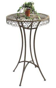DanDiBo Stehtisch Garten Metall Antik 130414 Tisch H-106cm D-65cm Gartentisch Bistrotisch Bartisch