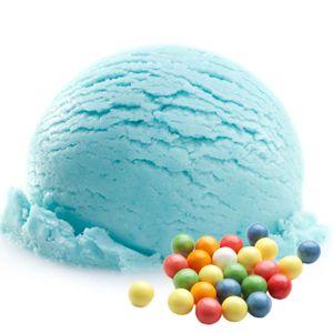Bubble Gum Geschmack Blau Eispulver Softeispulver 1:3