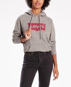 LEVI'S Graphic Sport Damen Sweatshirt Grau, Größenauswahl:XS