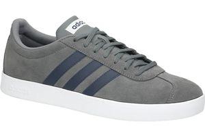 adidas Neo Court Herren Sneaker Grau Schuhe, Größe:44