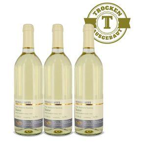 Weißwein Nahe Silvaner Weingut Roland Mees Kreuznacher Rosenberg Qualitätswein trocken (3 x 0,75l)