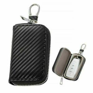 Keyless Go Schutz Autoschlüssel RFID Diebstahlschutzbox Autoschlüssel Signal Abschirmbox mit Schlüsselring Fernbedienung Schlüsseletui